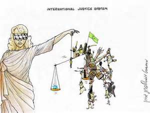 Lady Justice Internation Justice System