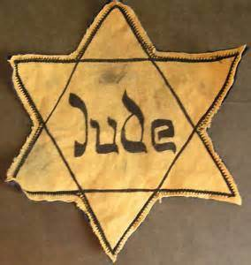 Star of David worn by Jews during The Holocaust.