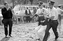 Bernie Sanders young arrested 1963